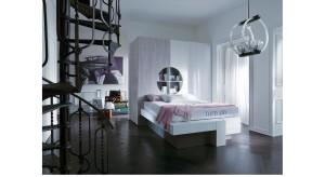 Cabina armadio con letto (prezzo su richiesta)